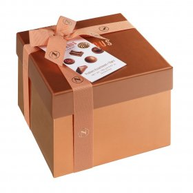 CHOCOLATE SQUARE GIFT BOX SMALL