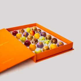 YOLANDAS CHOCOLATIERS BOX OF 24 BONBONS